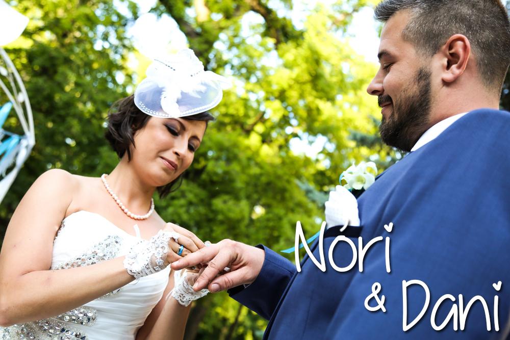 Esküvőszervezés referencia: Nóri és Dani