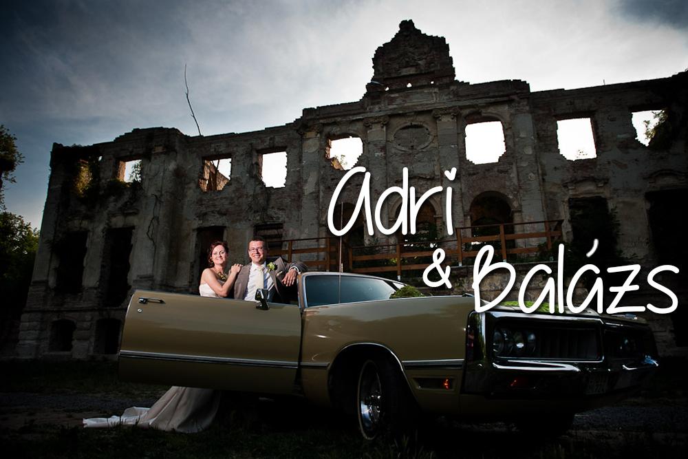 Esküvőszervezés referencia: Adri és Balázs