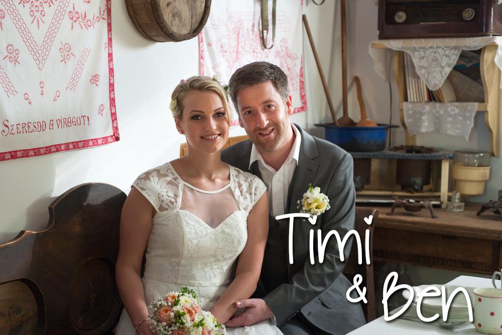 Esküvőszervezés referencia: Timi és Ben